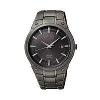 Seiko Men's Stainless Steel Solar Watch - SNE325