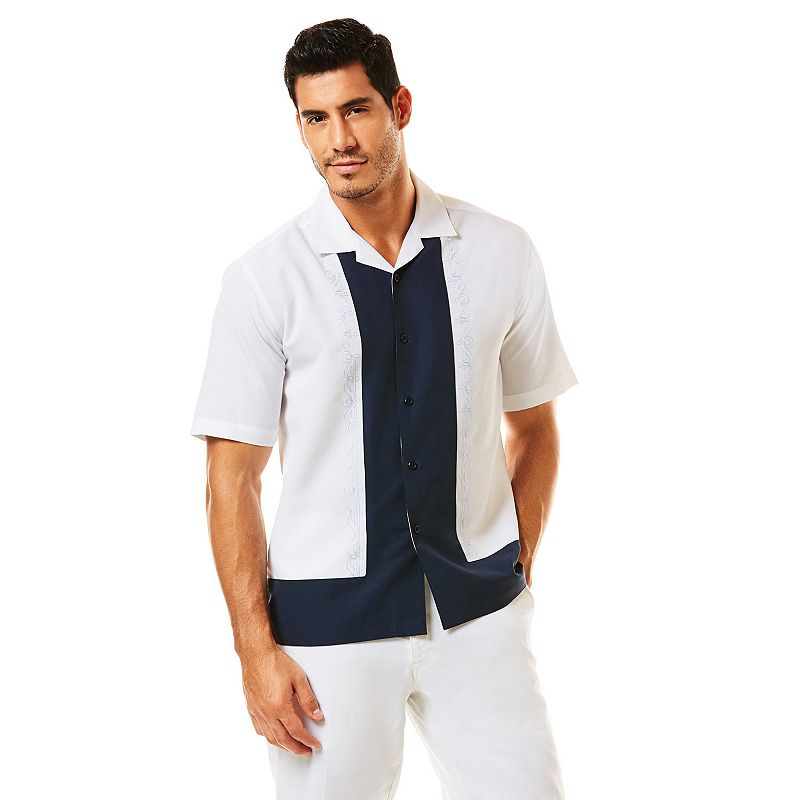 Men's Havanera L-Shaped Casual Button-Down Shirt