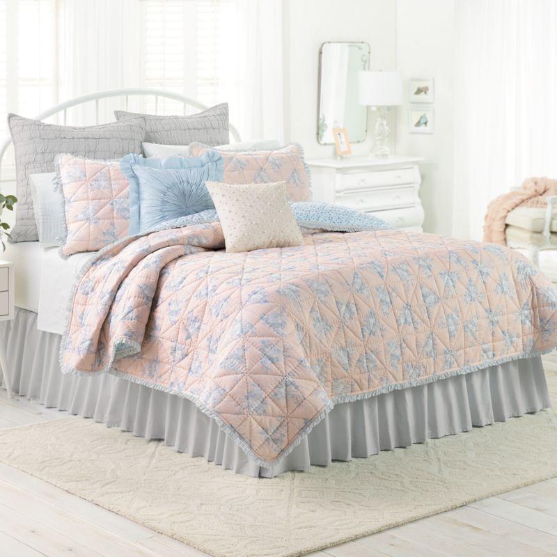 Blush Twin Bedding   Kohl's