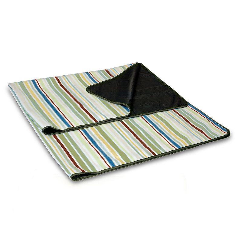 Picnic Time Striped Blanket Tote