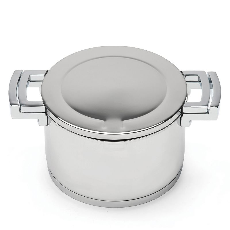 BergHOFF Neo 5.2-qt. Stainless Steel Covered Stockpot