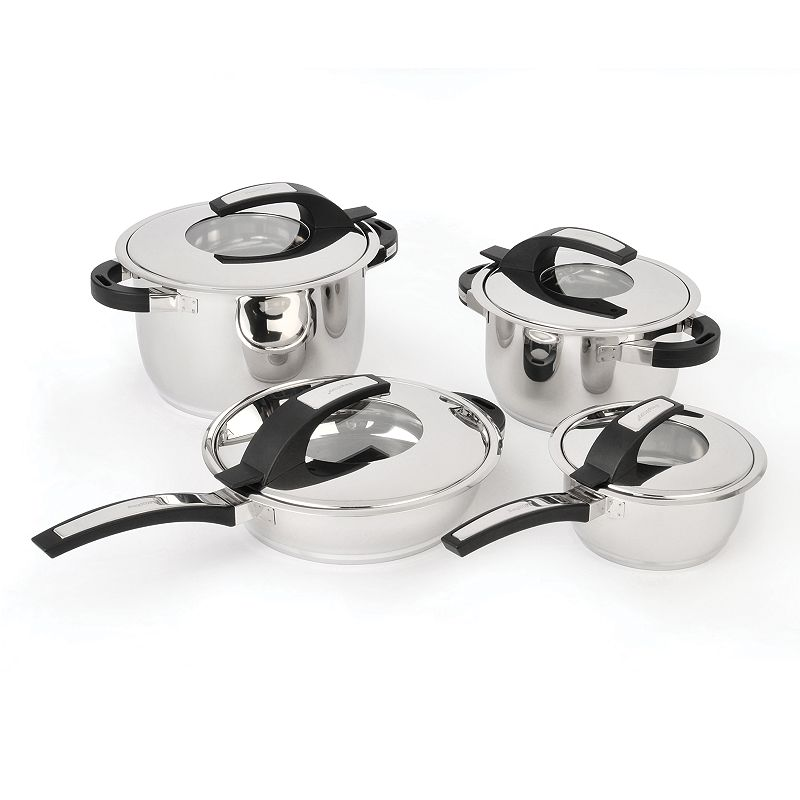 BergHOFF Virgo 8-pc. Stainless Steel Cookware Set