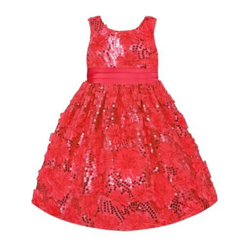 American Princess Rosette Sequin Dress - Baby