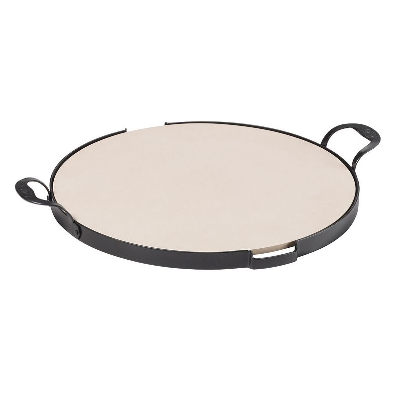 Guy Fieri 16-in. Pizza Stone with Rack
