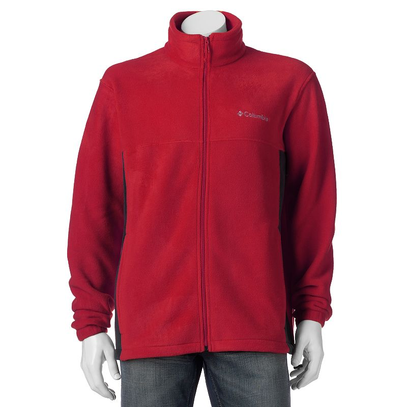 Men's Columbia Flattop Mountain Easy-Care Fleece Jacket