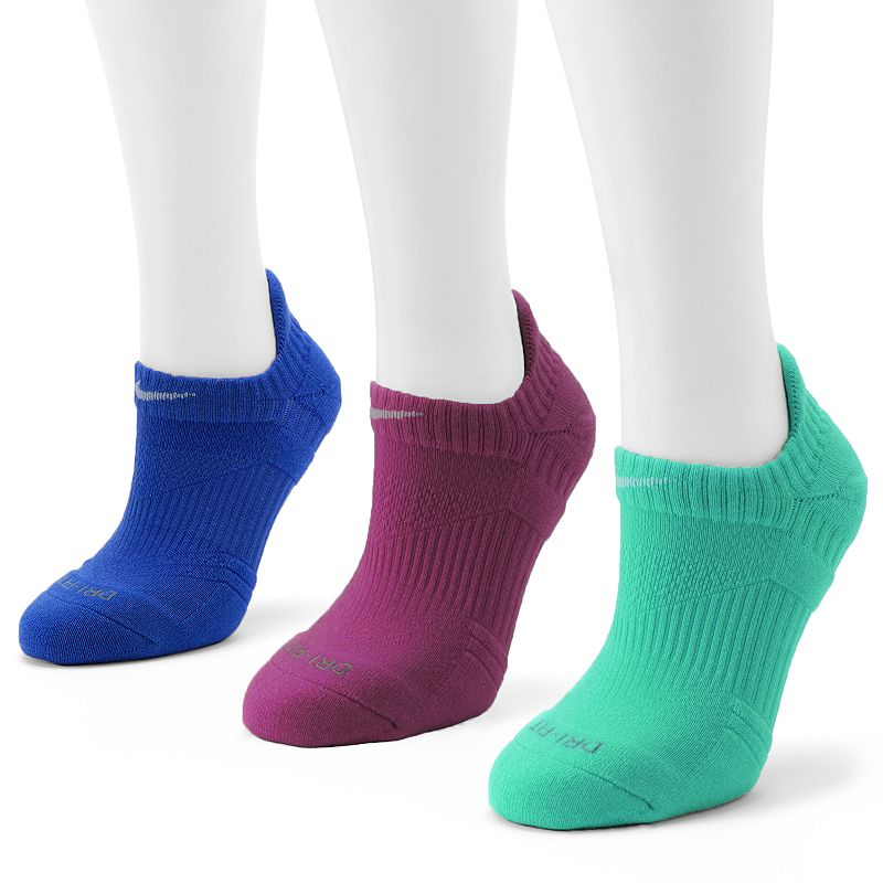Nike 3-pk. Dri-FIT Lightweight No-Show Socks