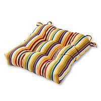 Greendale Home Fashions Square Sunbrella Outdoor Chair Pad