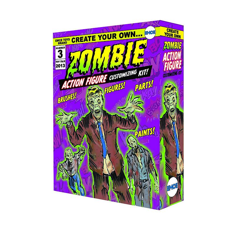 Create Your Own Zombie Action Figure Kit