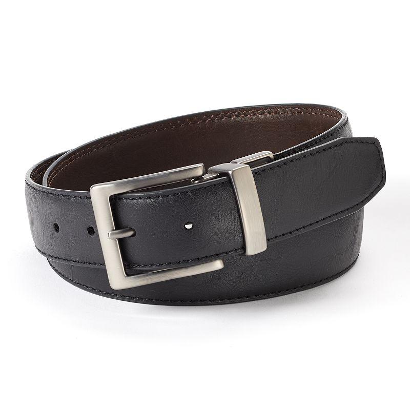 Dickies Reversible Logo-Buckle Leather Belt - Men