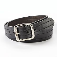 Dickies Industrial Strength Reversible Leather Work Belt Men