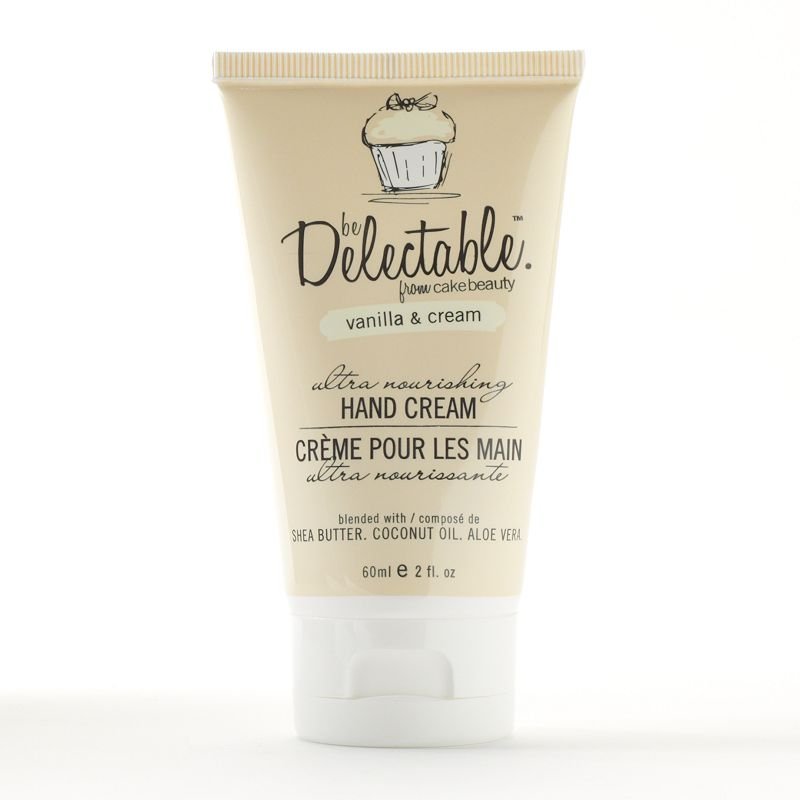 Be Delectable by Cake Beauty Vanilla and Cream Mini Hand Cream