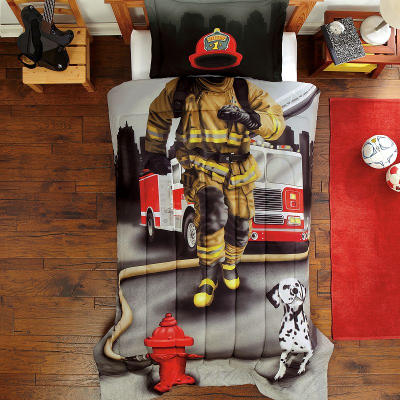 Dream Big Fire Fighter 2-pc. Comforter Set - Twin