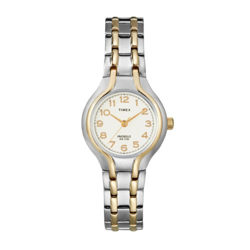 Timex Two Tone Dress Watch - T271919J - Women