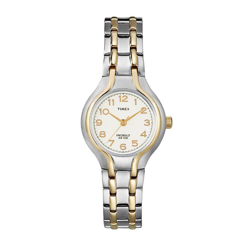Timex Women's Two Tone Dress Watch - T271919J