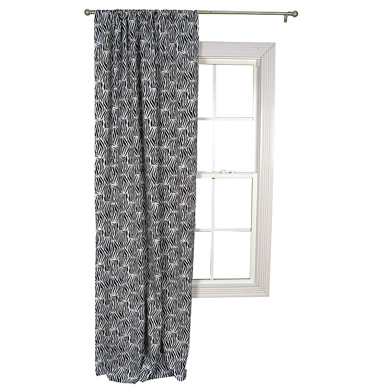Trend Lab Zebra Window Drape