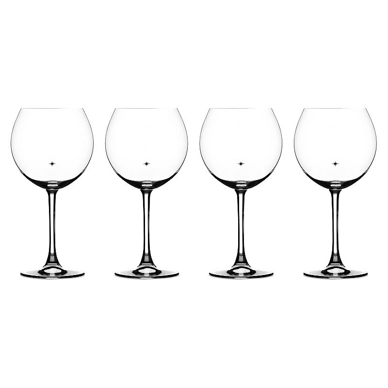 Cuisinart The Star's The Limit 4-pc. Burgundy Wine Glass Set