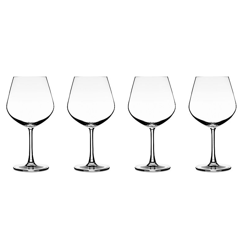 Cuisinart Elite Vivere 4-pc. Burgundy Wine Glass Set