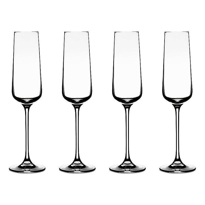 Cuisinart Elite Vivere 4-pc. Champagne Flute Set