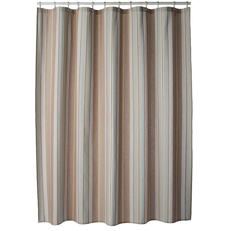 SONOMA Goods for Life™ Torrance Stripe Fabric Shower Curtain