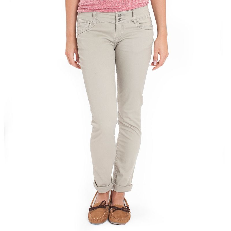 Juniors' Unionbay Lucy Skinny School Uniform Pants