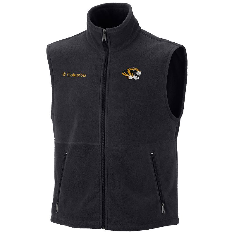 Men's Columbia Missouri Tigers Flanker Fleece Vest