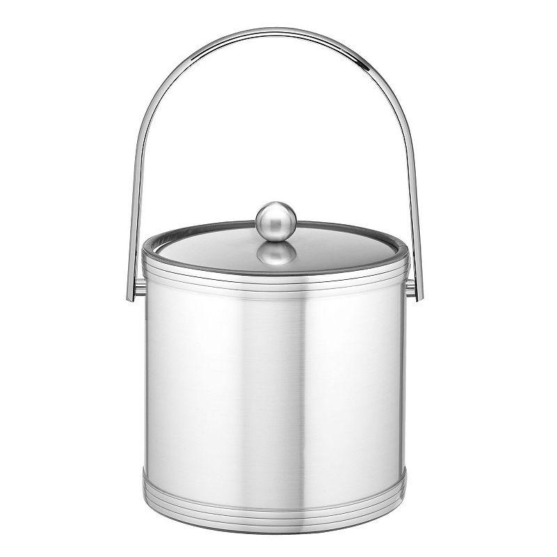 Kraftware Mylar II 3-qt. Chrome Ice Bucket