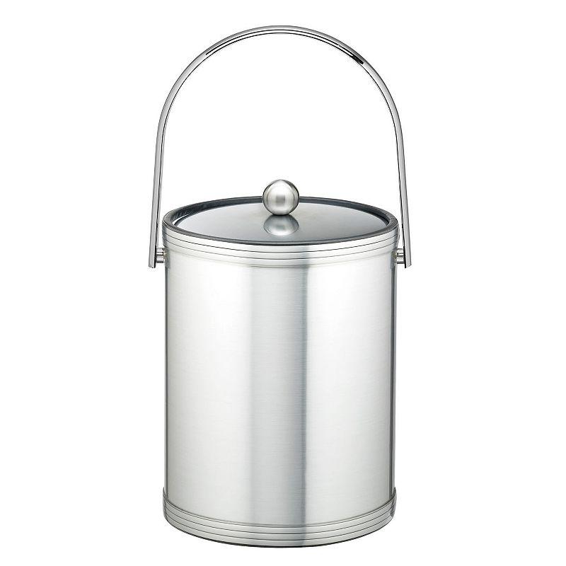 Kraftware Mylar II 5-qt. Chrome Ice Bucket