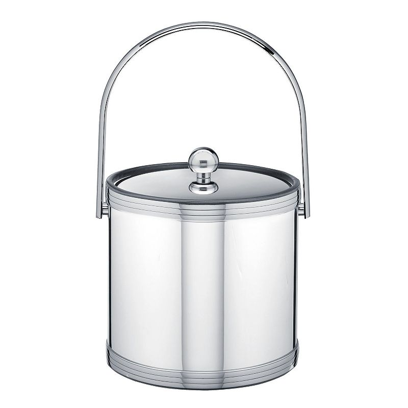 Kraftware Mylar II 3-qt. Polished Chrome Ice Bucket