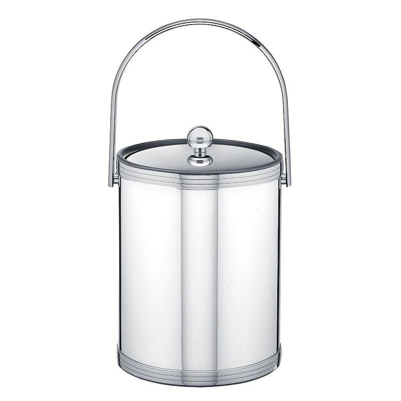 Kraftware Mylar II 5-qt. Polished Chrome Ice Bucket