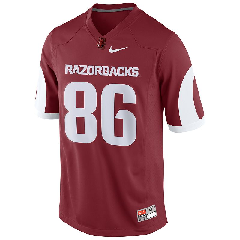 Boys 8-20 Nike Arkansas Razorbacks Replica NCAA Football Jersey