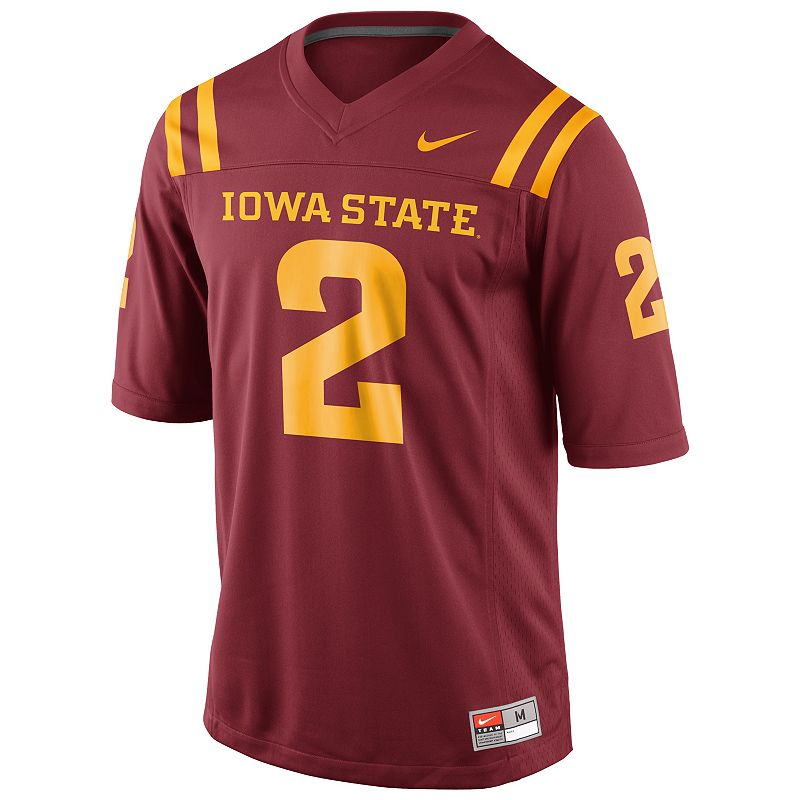 Boys 8-20 Nike Iowa State Cyclones Replica NCAA Football Jersey