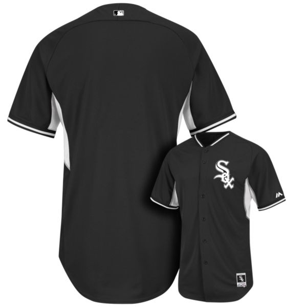 Men's Majestic Chicago White Sox Cool Base Batting Practice Jersey