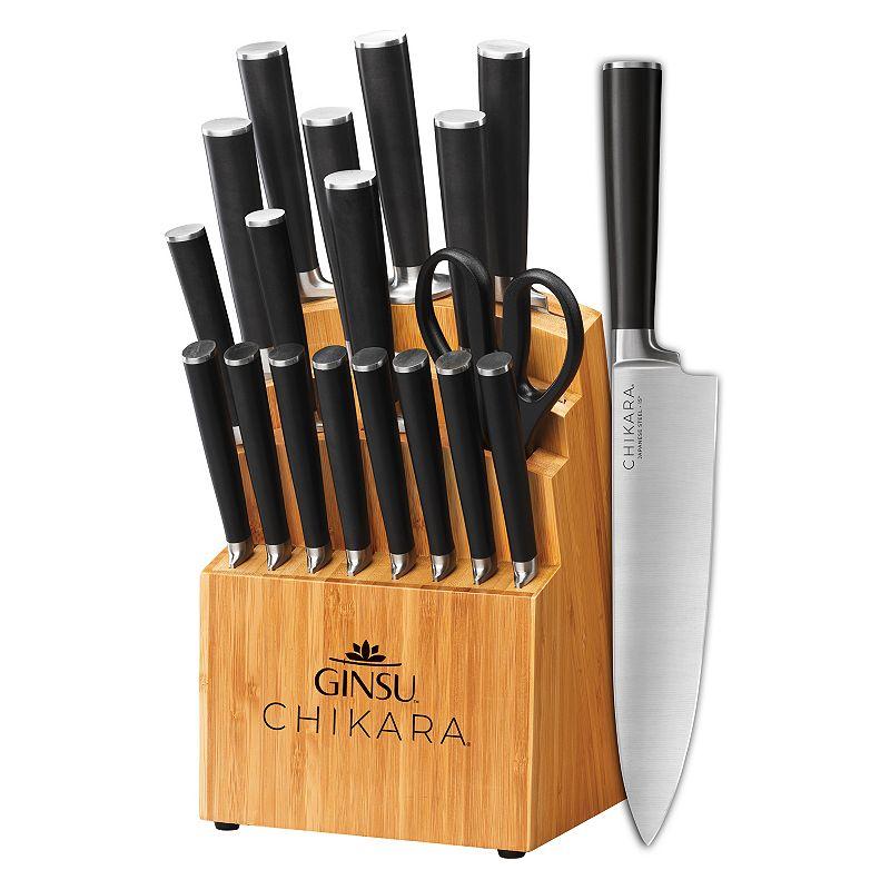 Ginsu Chikara Signature Series 19-pc. Cutlery Set