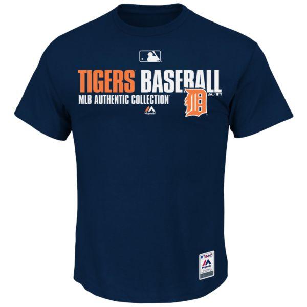 Big & Tall Majestic Detroit Tigers AC Team Favorite Tee