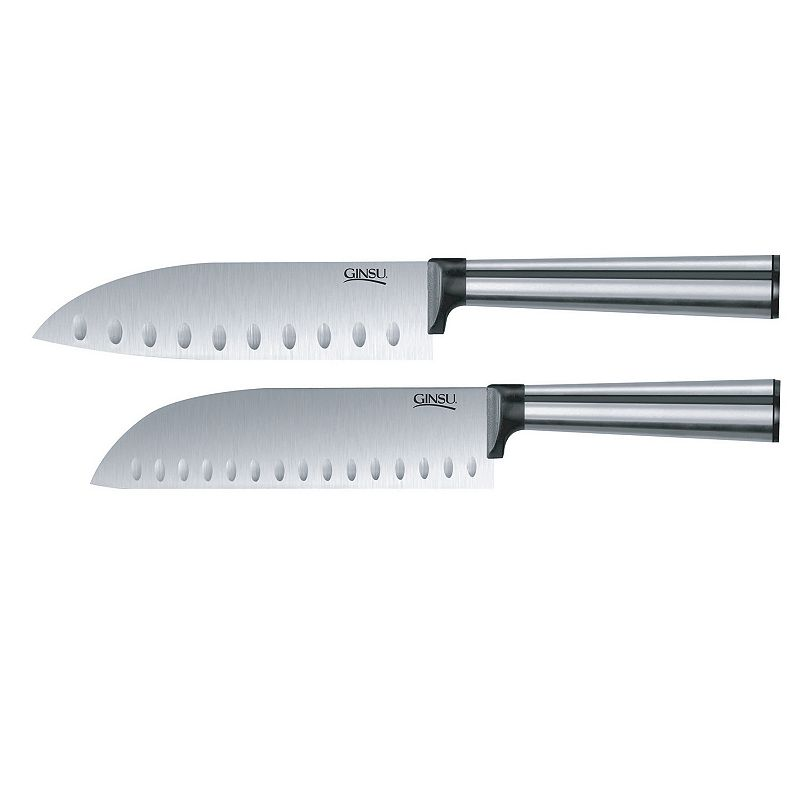 Ginsu Koden Series 2-pc. Santoku Knife Set