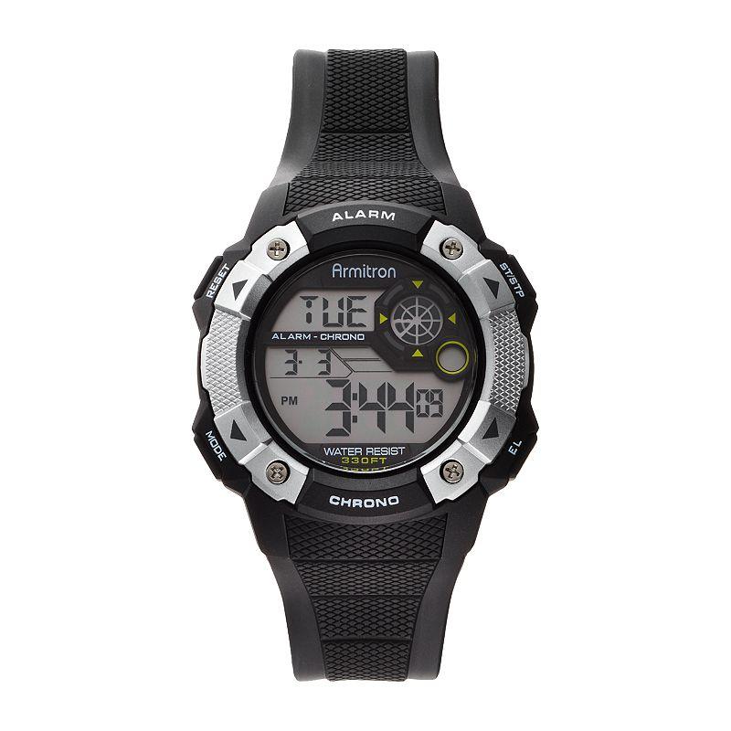 Armitron Men's Digital Chronograph Watch - 40/8308BLK