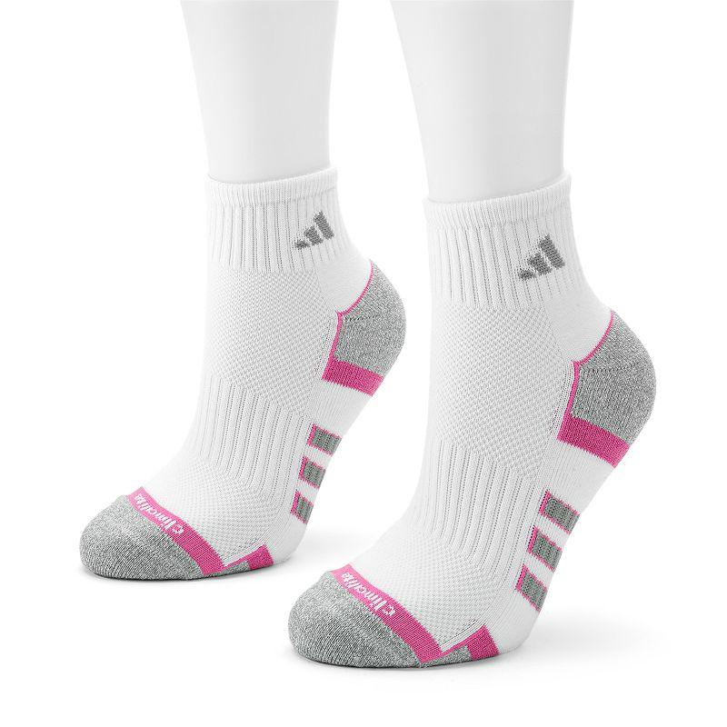 adidas 2-pk. ClimaLite II Quarter Socks