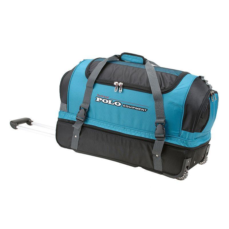Rockland 26-Inch Drop-Bottom Rolling Duffel Bag