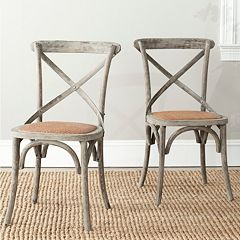 Click here to buy Safavieh 2-pc. Franklin Chair Set.