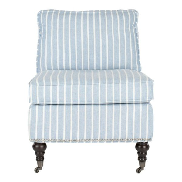 Safavieh Randy Striped Slipper Chair