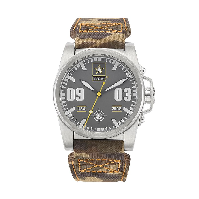 Wrist Armor Men's Military United States Army Camouflage Watch - 37WA021401A