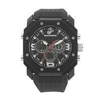 Wrist Armor Men's Military United States Marine Corps C28 Analog & Digital Chronograph Watch