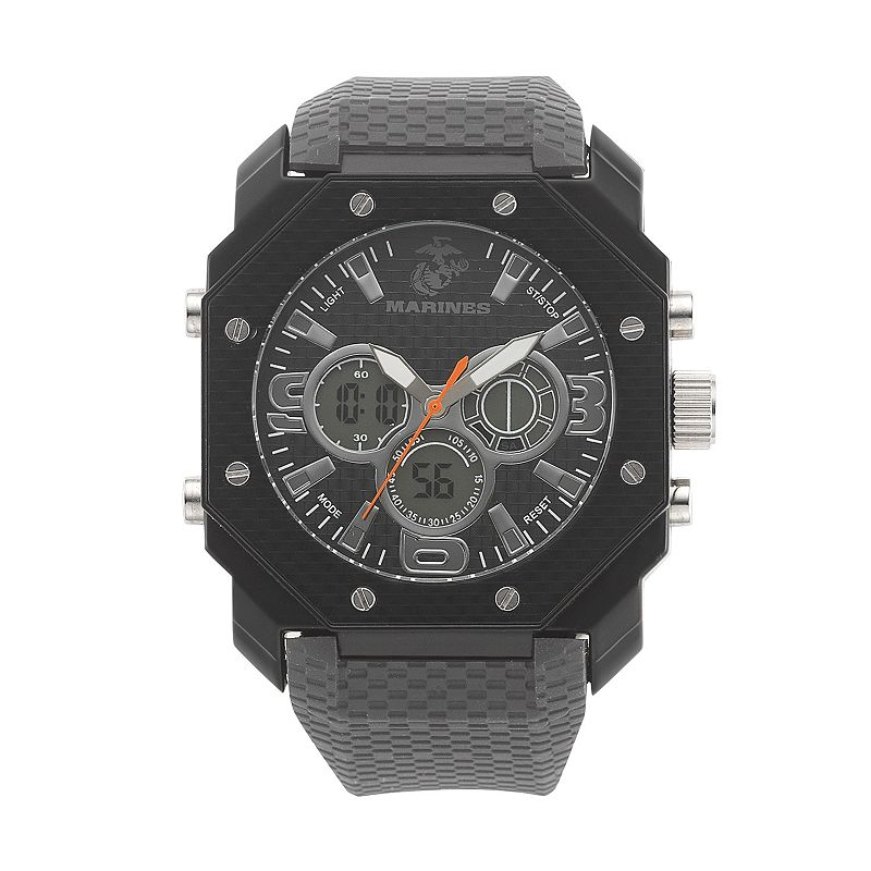 Wrist Armor Men's Military United States Marine Corps C28 Analog & Digital Chronograph Watch