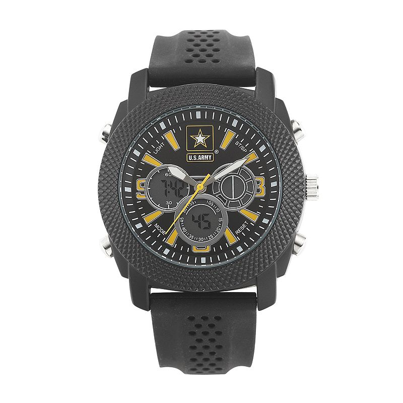 Wrist Armor Men's Military United States Army C21 Analog & Digital Chronograph Watch - 37200003
