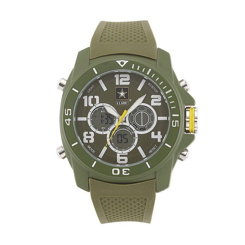 Wrist Armor Men's Military United States Army C24 Analog & Digital Chronograph Watch