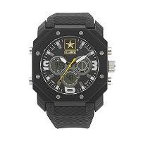 Wrist Armor Men's Military United States Army C28 Analog & Digital Chronograph Watch