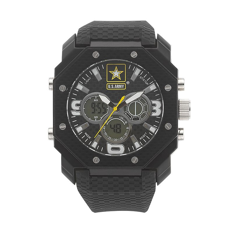 Wrist Armor Men's Military United States Army C28 Analog & Digital Chronograph Watch