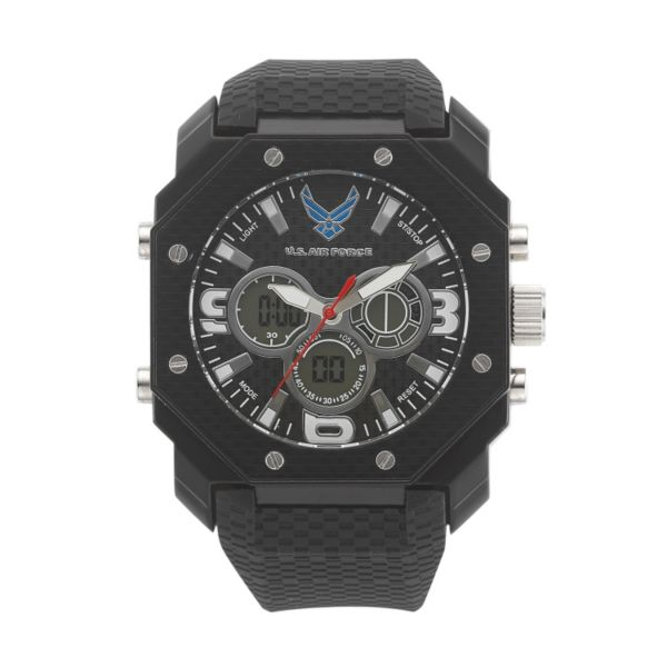 Wrist Armor Men's Military United States Air Force C28 Analog & Digital Chronograph Watch - 37300008