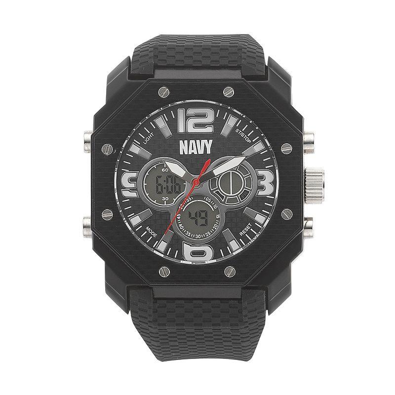 Wrist Armor Men's Military United States Navy C28 Analog & Digital Chronograph Watch - 37400007
