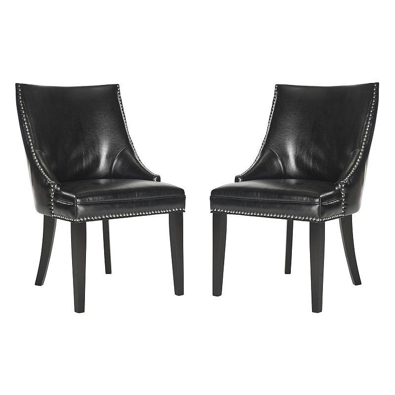 Safavieh 2-pc. Afton Bicast Leather Side Chair Set
